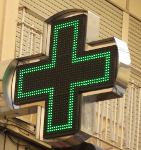 green pharmacy cross